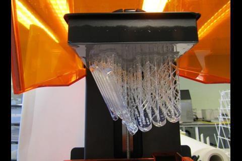 3D printed flow reactor